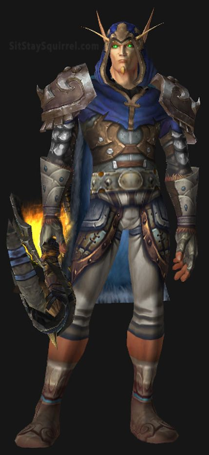 Male Blood Elf Hunter Transmog