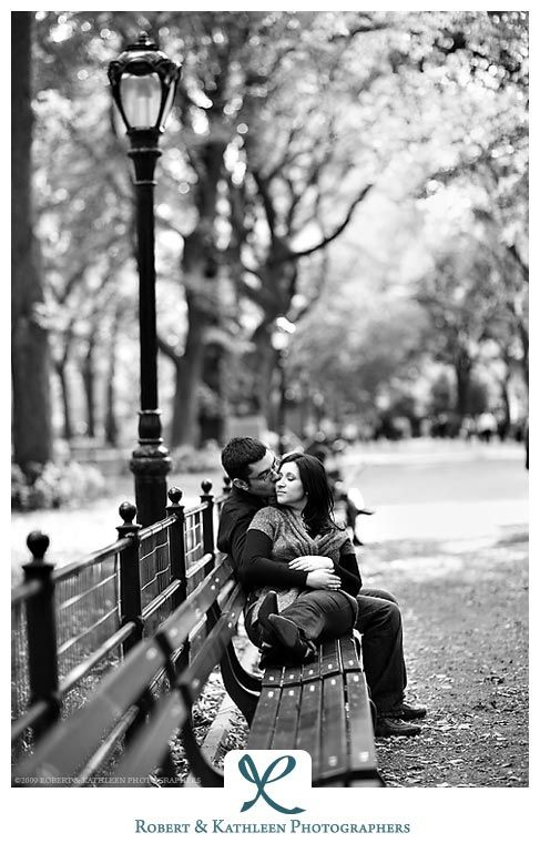 New York City Engagement Photography: Robert and Kathleen Photographers | Manhattan, NYC: Engagement Session Photos