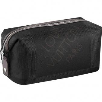 Men's Louis vuitton Damier Geant Canvas Albatros Toiletry Bag M93091