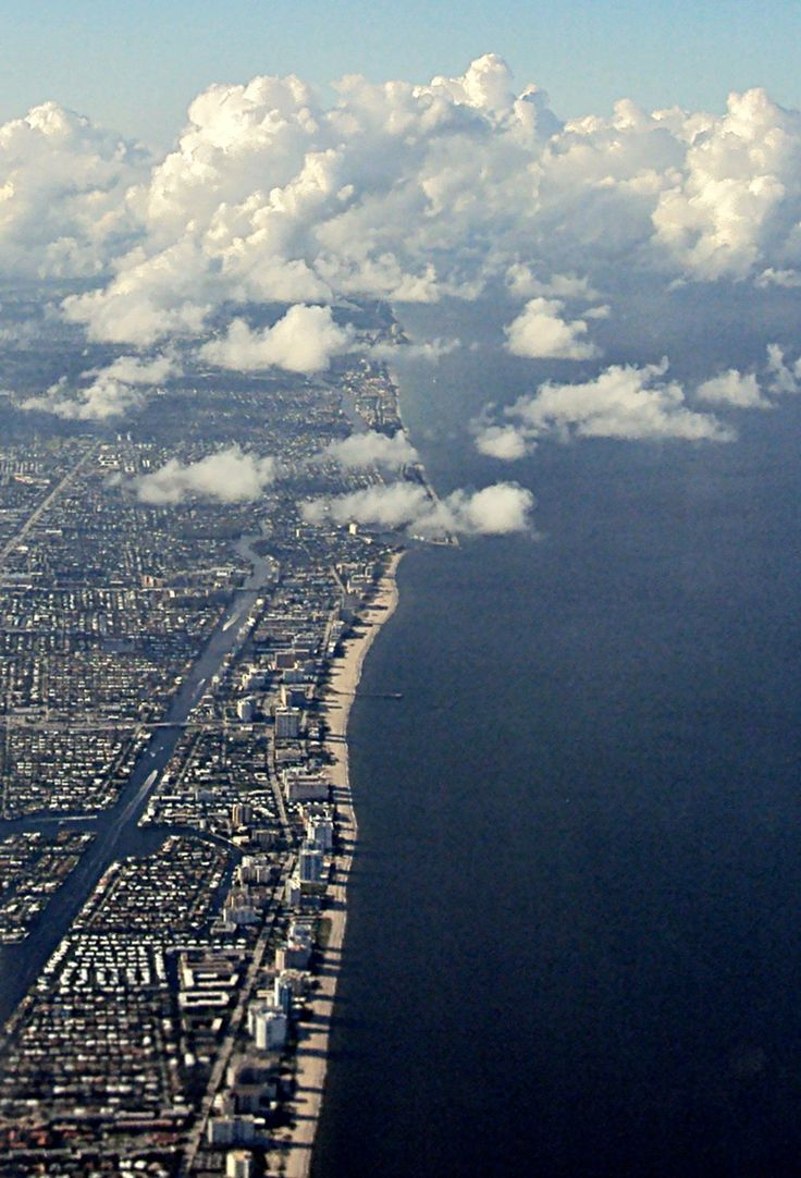 Flying over the Broward County | Florida (by Nacho Coca)