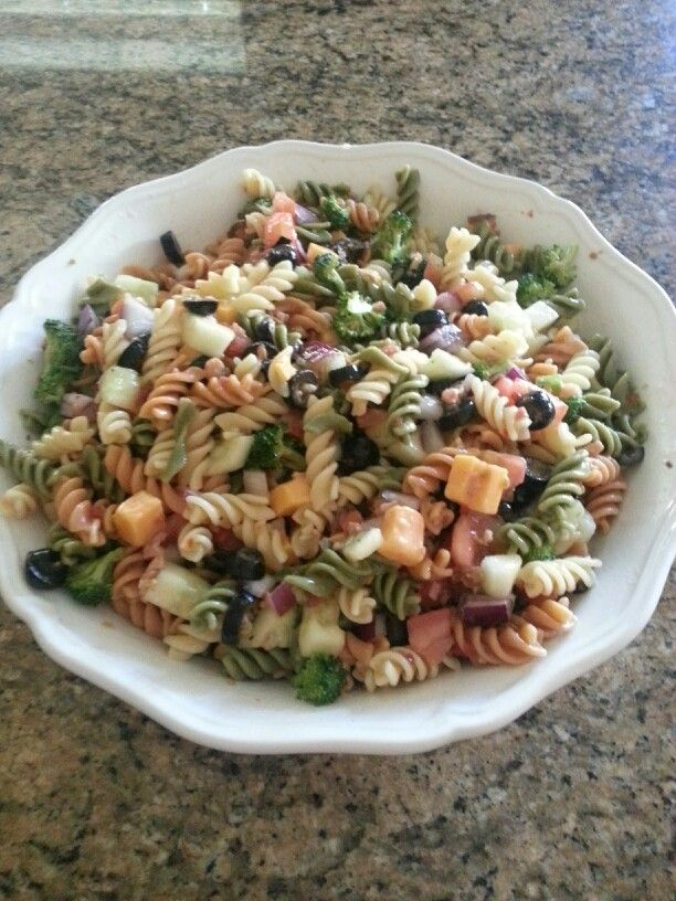 Cold Pasta Dish Yum Yum Pinterest Dishes Cold