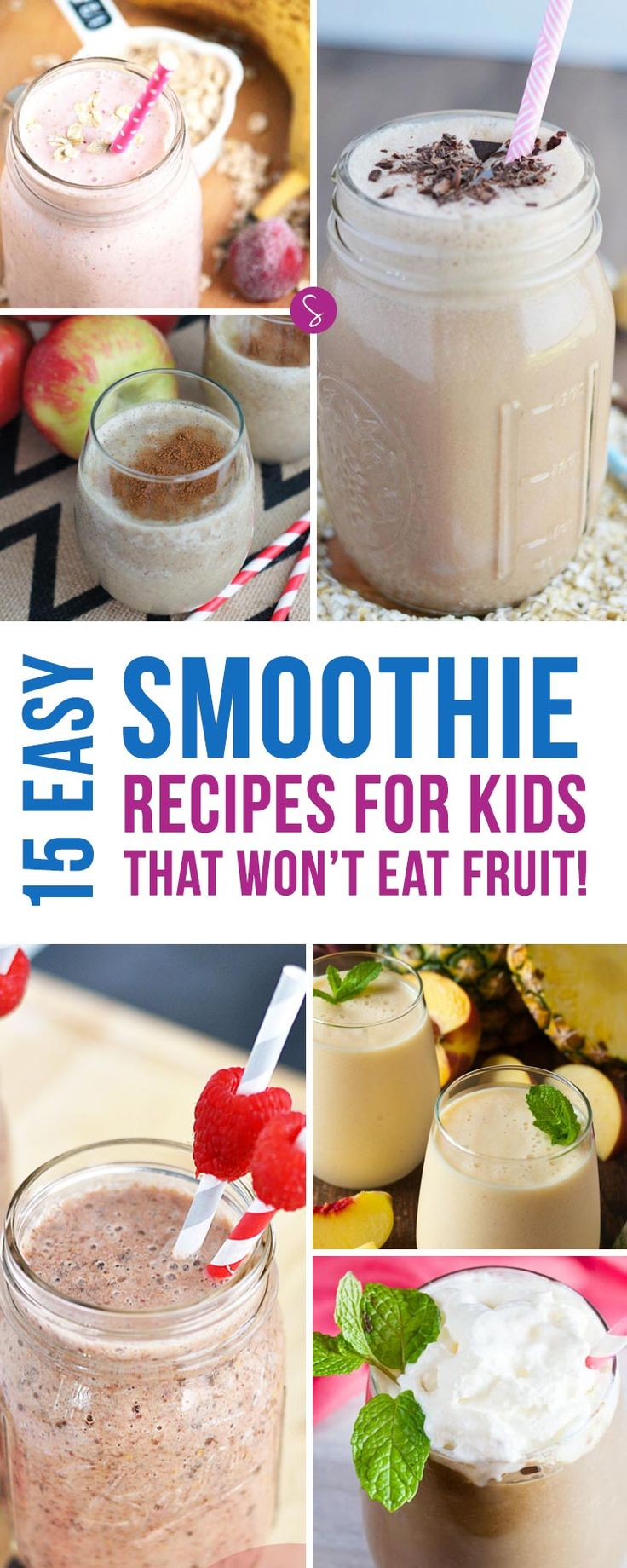 If your child sees fruit and runs the other way check out these delicious easy smoothie recipes for kids.