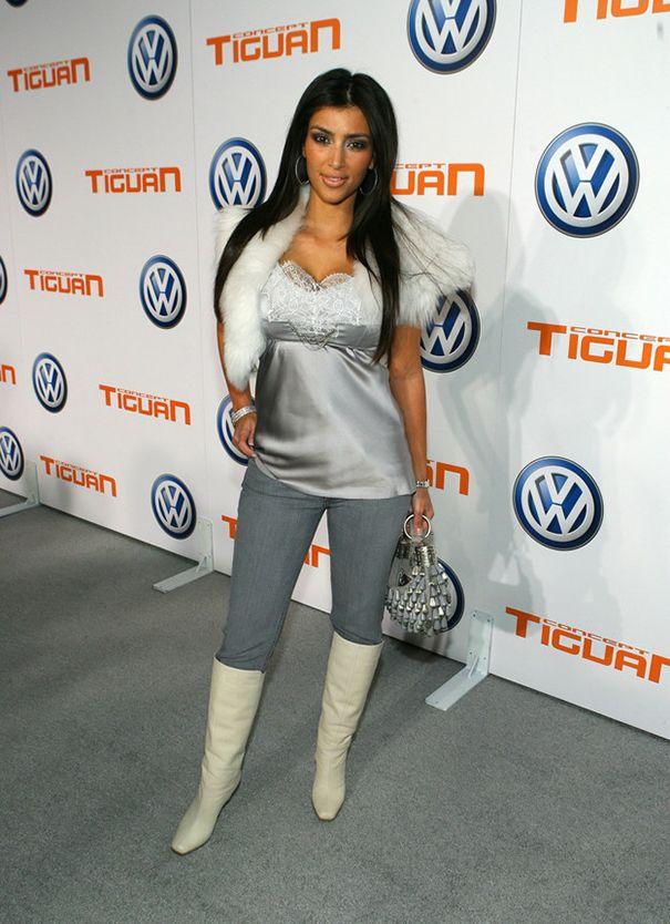 kim kardashion fashion fail | 25X Fashion fails van Kim Kardashian (van voor het Kanye tijdperk ...