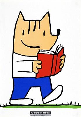 [Cobi leyendo]/ [Javier Mariscal] (1989)