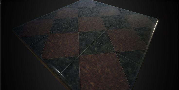 Substance Designer PBR  Procedural marble tile, inho kim on ArtStation at https://www.artstation.com/artwork/substance-designer-pbr-procedural-marble-tile