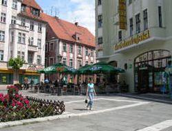 Zielona Gora; where my family lives