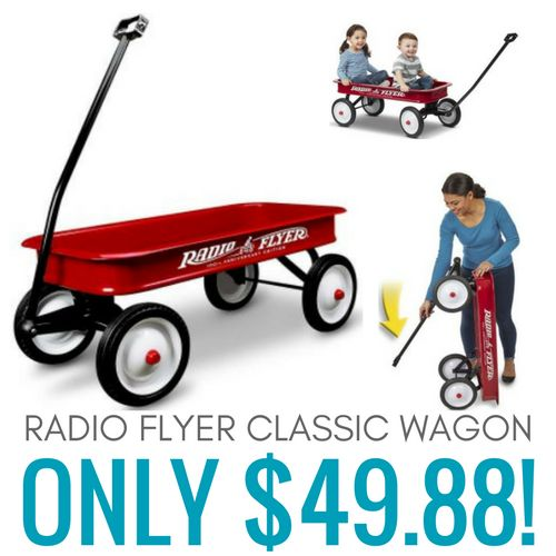 Radio Flyer Classic Red Wagon only $49.88!
