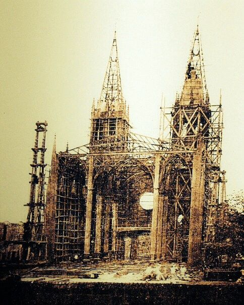 #Philippine_History __ Formerly made of wood & stone, the Basilica Minore de San Sebastian was reconstructed with steel; making it the only all-steel church in Asia. Belgian engineers supervised the assembly of the church, the first column of which was erected on September 11, 1890.