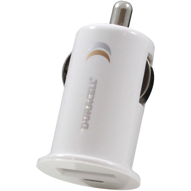 Duracell Mini Usb Car Charger (white)