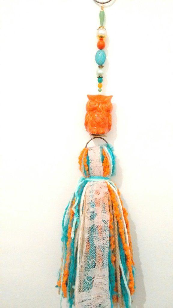 ¡Mirá nuestro nuevo producto Borla de Lana con Búho de Cerámica!! Si te gusta podés ayudarnos pinéandolo en alguno de tus tableros :)