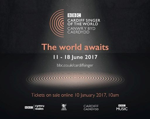 BBC Cardiff Singer of the World 2017 | 11 - 18 June. Dame Kiri Te Kanawa has been Patron of the competition since 2011. Season Tickets go on sale on the St David's Hall website tomorrow! (10th Jan) |...