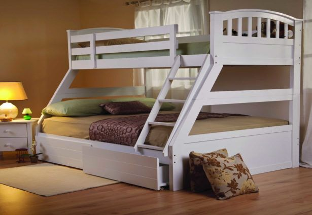 Bedroom Simple Triple Bunk Bed Plans Triple Bunk Bed Canada Free Triple Bunk Bed Plans Triple Bunk Bed Instructions Triple Bunk Bed with Special Features for Children and Teens