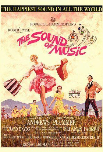 Amazon.com - The Sound of Music Poster 27x40 Julie Andrews Christopher Plummer Eleanor Parker