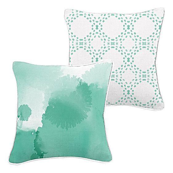 Mint Crush Cushion by Urban Road