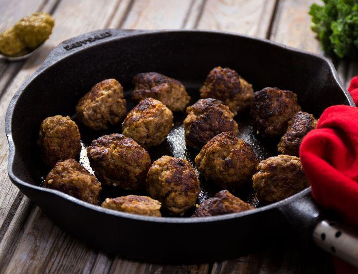 Köttbullar med skånsk senap | Recept från Köket.se