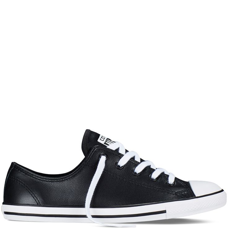 Chuck Taylor All Star Dainty Leather Black black