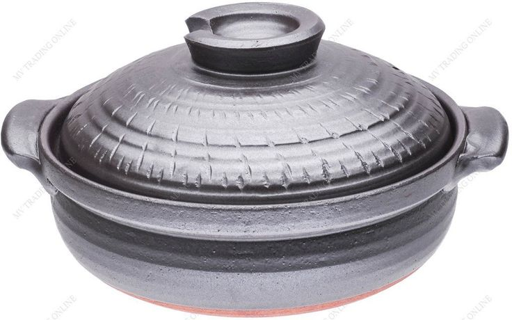 M.V. Trading JPCP11GM Japanese Eathern Casserole Donabe Hot Pot *** You can get more details by clicking on the image.