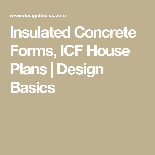 M s de 25 ideas incre bles sobre concrete forms en for Icf house cost