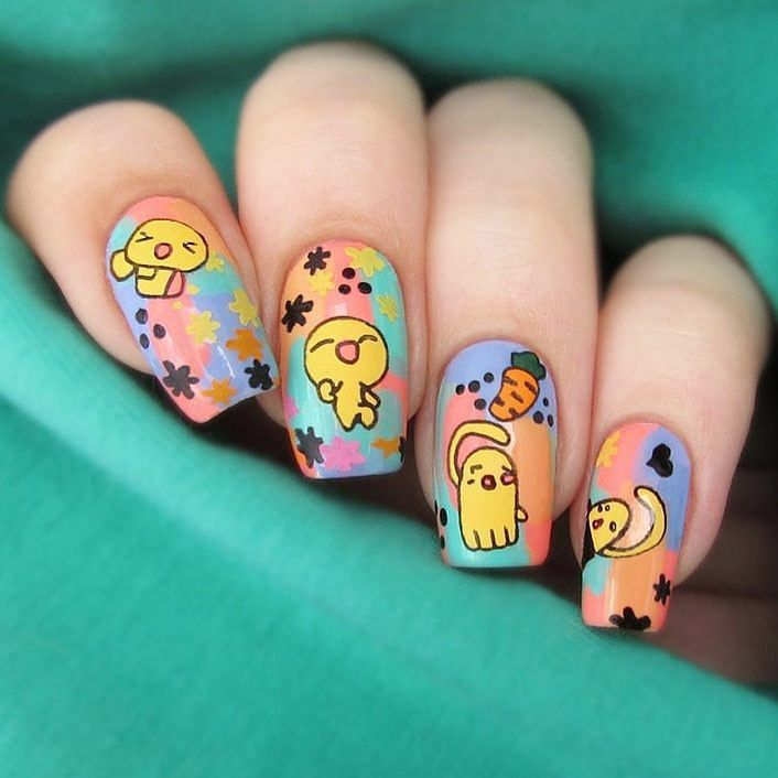Divertidos Diseños Para Sus Uñas. Stamping Nail Art #Konad