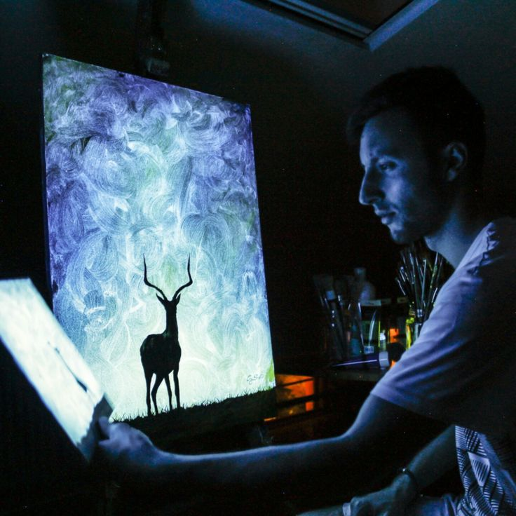 Tattoo Designs Vignesh: 32 Best Glow In The Dark Paintings Images On Pinterest