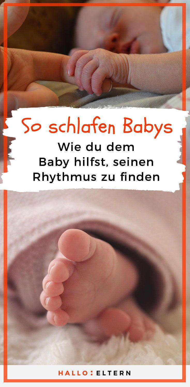 """Der """"Tag"""" eines Neugeborenen besteht aus 6 Phasen – Julia Zech"""