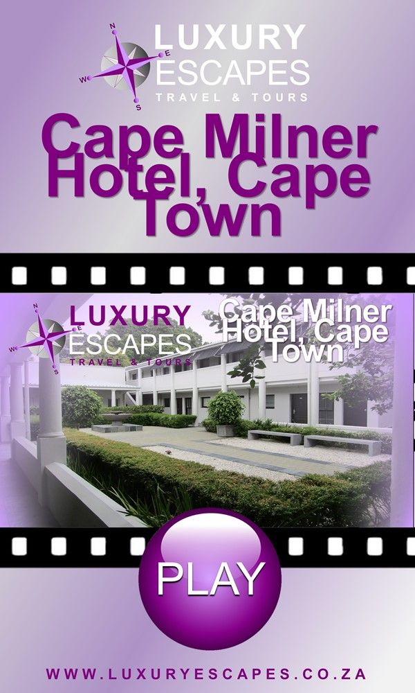 Join us today as we explore the Cape Milner Hotel, Cape Town. Come and Enjoy!. Watch on https://youtu.be/VuRg0Eqqbb4 . Enjoy!