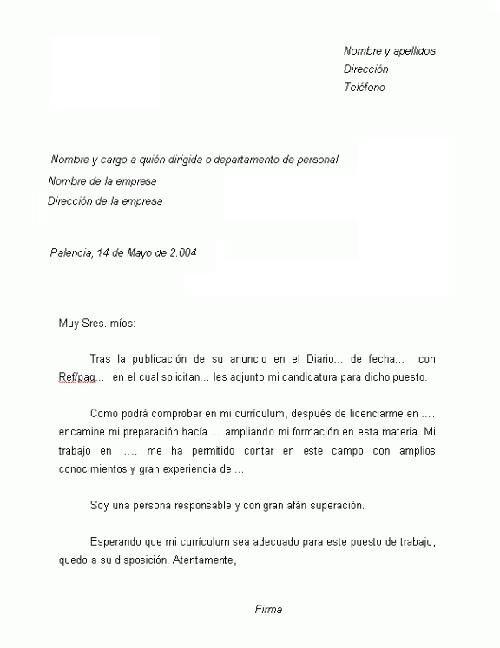 un cover letter - Sasolo.annafora.co