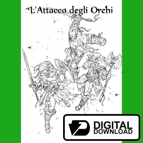 L'attacco degli orchi (Versione digitale)