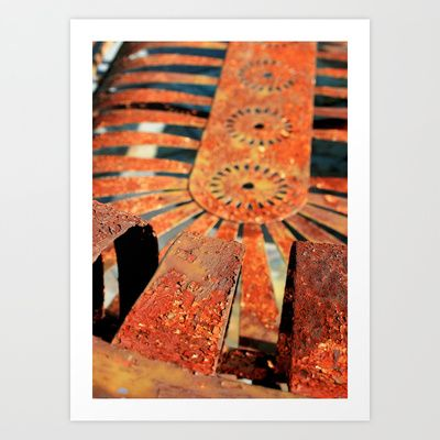 Rustic Glider print series II Art Print by Thistle & Thyme Photography - 8x10 - $24.96 http://society6.com/kari1121/rustic-glider-print-series-ii#1=45