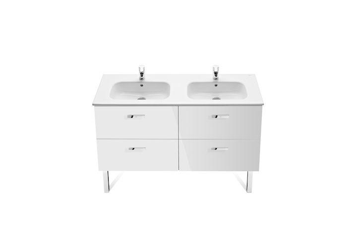 Zestaw łazienkowy Unik podwójny z 4 szufladami | Umywalki klasyczne | Umywalki | Produkty | Roca
