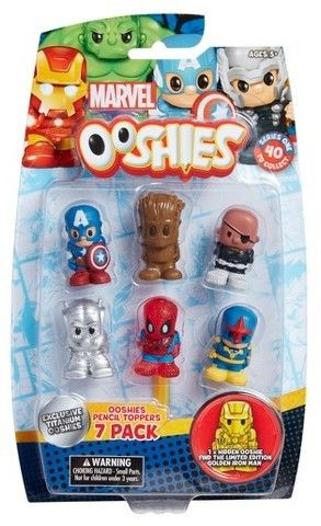 Ooshies Marvel Mini Figures 7pk [affiliate] #marvelcomics #kidstoys #giftsforkids