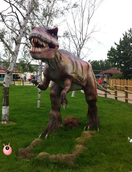 A review of Flamingo Land in Yorkshire - with their new Dino Stone Park #dinosaurs #daysout