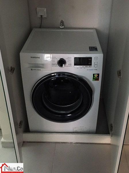 Ολική Ανακαίνιση Καλλιθέα - Εντοιχισμός πλυντηρίου