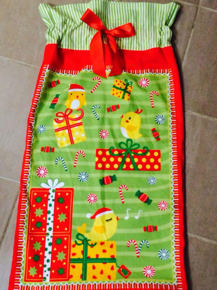 Chicks with Gifts Santa Sack - $16