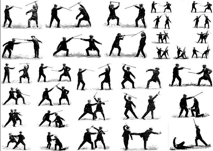 Bartitsu cane fighting manual
