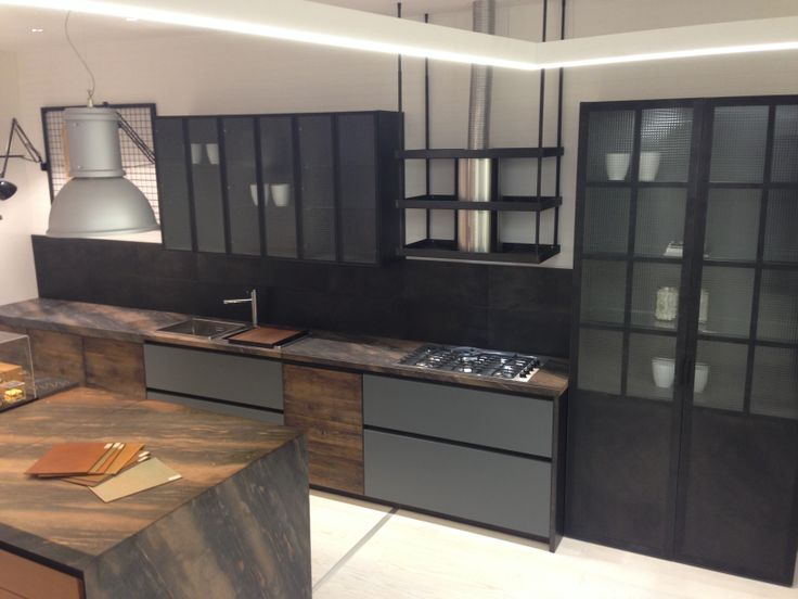 Aster cucine factory collection rustic modern for Aster cucine kitchen cabinets