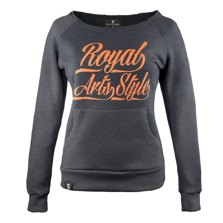 Women's wide shoulder sweatshirt