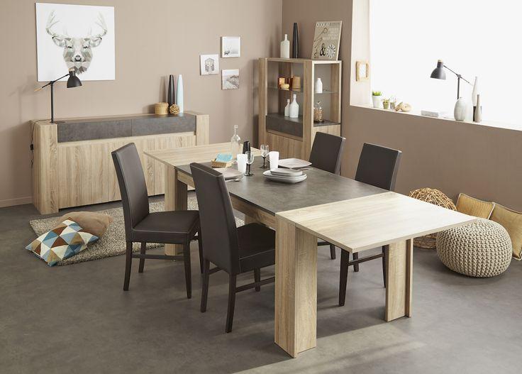 Brut Table A Manger Extensible Tables De Repas Leeds