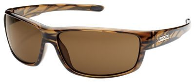 Suncloud Voucher Polarized Sunglasses - Brown Stripe/Brown