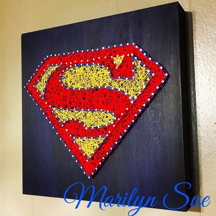 Superman String art!