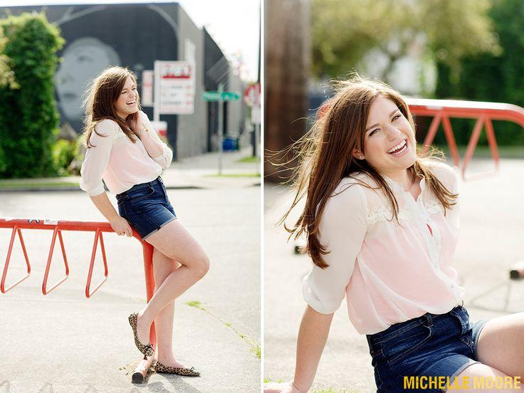 Michelle Moore Seattle High School Senior Portrait Photographer for Maureen Class of 2013 Bainbridge High School Senior Rep