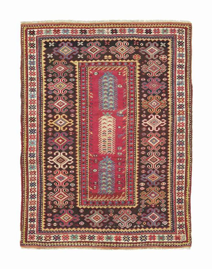 MELAS RUG  WEST ANATOLIA, LATE 19TH CENTURY    4 ft. 2 in. x 3 ft. 2 in. (127 x 97 cm.)