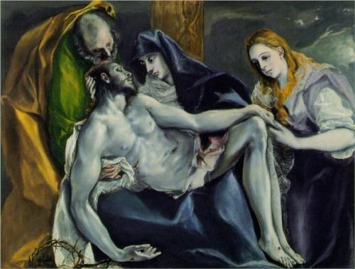 Pietà (El Greco, c.1592, 120 x 145 cm, Stavros Niarchos Collection)
