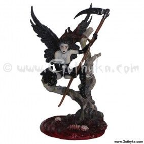 figurine ange gothique underworld harpie - Boutique Gothique Romantique Gothyka