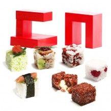 De Rice Cube sushi maker, wij vinden hem te gek. Maak zelf de lekkerste creaties!