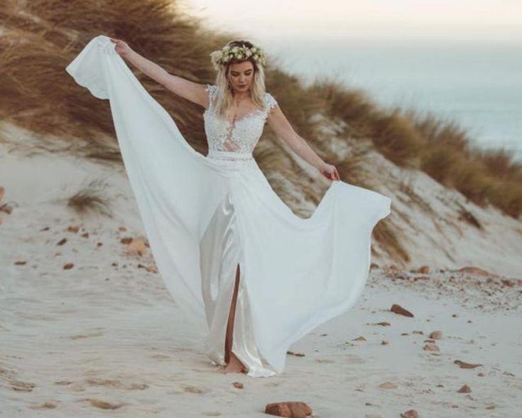 1778 best robes de mari e images on pinterest for Robes pour un mariage sur la plage