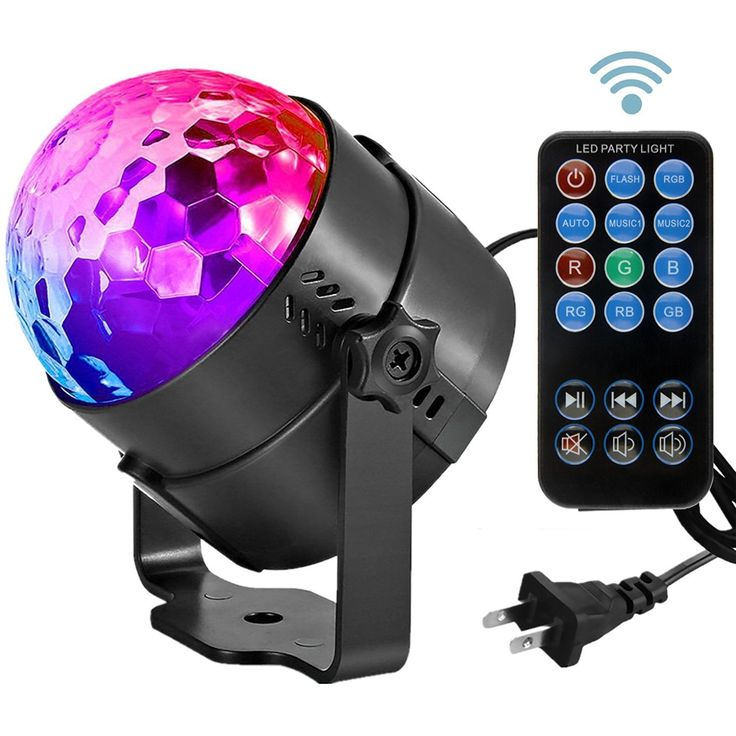 Led Sound Activated Party Lights Disco Ball DJ Strobe Club L& 7 Modes Magic Mini Led Stage Lights for Christmas Home Room Dance Parties Birthday DJ Bar ...  sc 1 st  Pinterest & 9 best Stage Laser Light Show images on Pinterest | Commercial ... azcodes.com