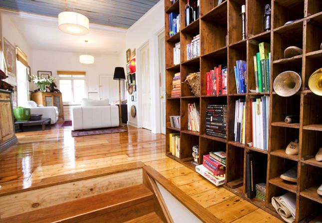 Daylesford house decorated in an eclectic style, sleeps 6.