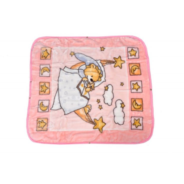 Valtellina Reading Book At Night Collection Design Double Baby Mink Blanket (QTB-003)