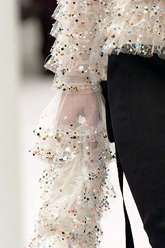 Karl Lagerfeld defines the mastery and pure luxury of couture